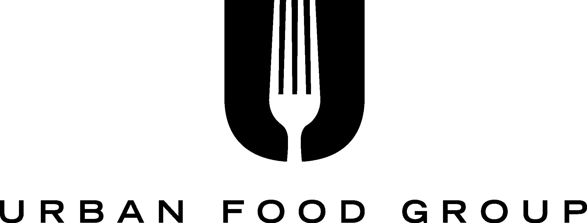 Urban Food Group black logo